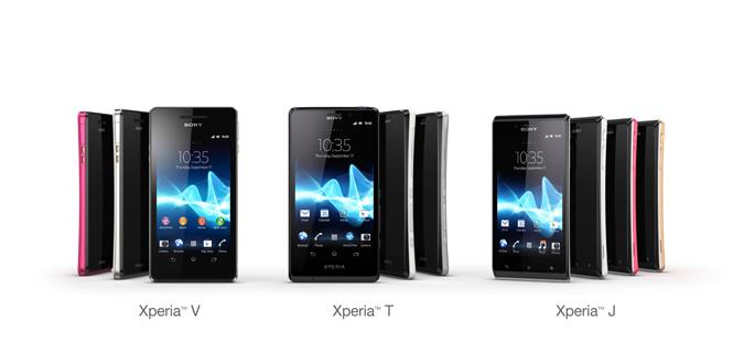 sony xperia mobile price list 2012