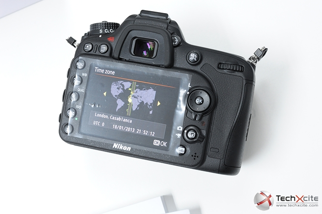 how to set timer nikon d7100