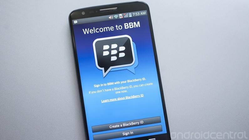 Android: มาแล้วไฟล์  apk แอป BlackBerry Messenger (BBM) ของแท้
