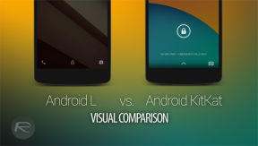 Android: เปรียบเทียบหน้าตาเมนูอินเตอร์เฟซ Android L และ Android 4.4 KitKat!