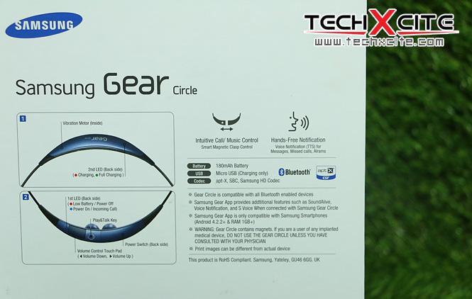 Review : Samsung Gear Circle หูฟังอัจฉริยะดีไซน์เก๋ พร้อม