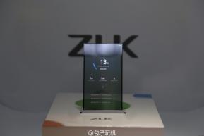 Mobile : ZUK โชว์ความเหนือชั้นด้วยสมาร์ทโฟนต้นแบบจอโปร่งแสง
