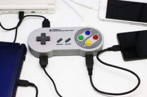 Gadget: ย้อนยุคสุดใจกับแบตเตอรี่พกพา Super RetCon Battery ดีไซน์จอย Super NES!