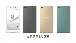 Android : Sony เปิดตัว Xperia Z5 และ Xperia Z5 Compact พี่คนรองและน้องคนเล็ก มาพร้อมระบบสแกนลายนิ้วมือและกล้องโฟกัสไวที่สุดในโลก !!
