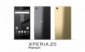 Android : เปิดตัว Sony Xperia Z5 Premium สมาร์ทโฟนหน้าจอ 4K รุ่นแรกของโลก !!