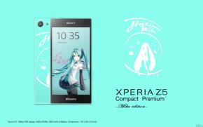 Android: ลือสนั่น Sony Xperia Z5 Compact Premium Miku Edition กำลังจะมาเพื่อสาวกมิกุ!