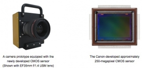 Camera : Canon พัฒนาเซ็นเซอร์ขนาด APS-H ความละเอียด 250 ล้านพิกเซล