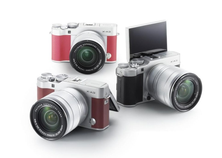 Camera Fujifilm X A3
