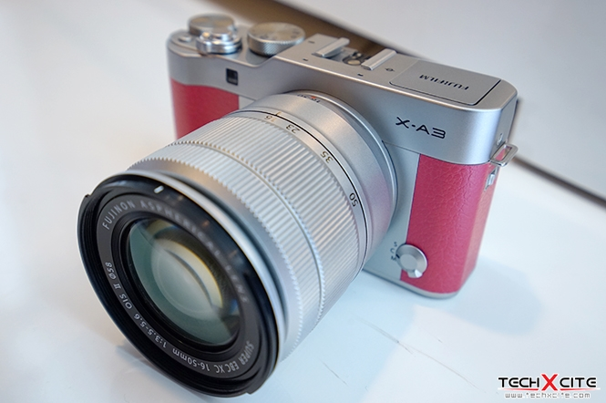 Preview Fujifilm X A3