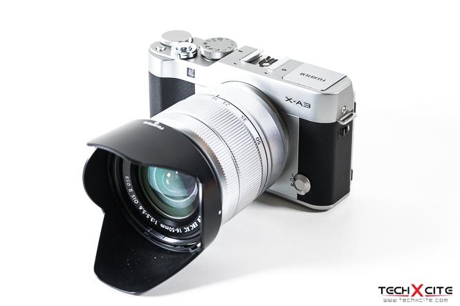 Review Fujifilm X A3