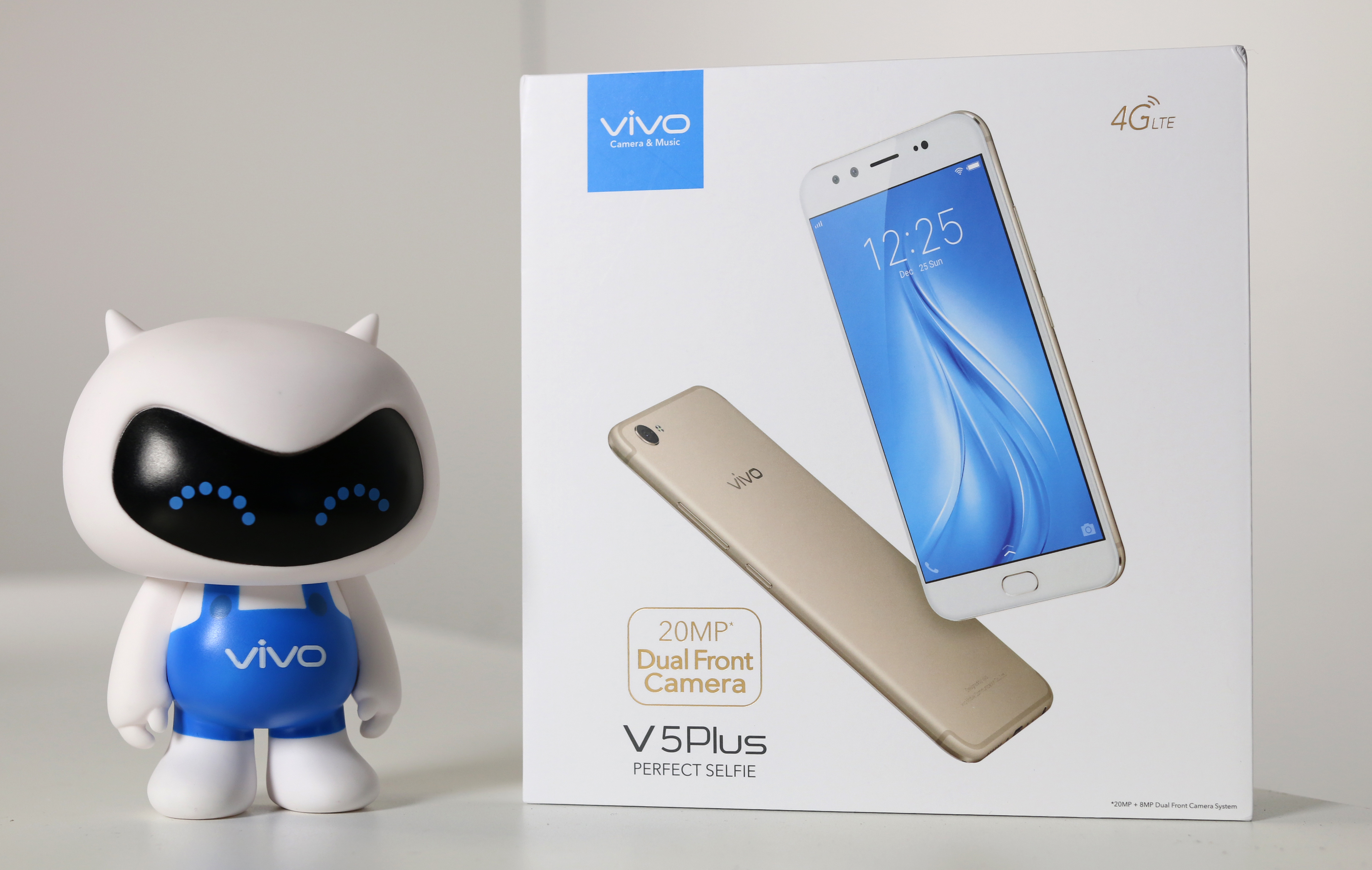 Review : Vivo V5 Plus ถ่ายรูปกล้องหน้าคู่ชัดสะใจความละเอียด 20 MP มา