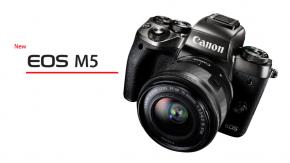 Camera: Canon EOS M5 กล้องมิเรอร์เลสตัวท็อปรุ่นใหม่ล่าสุดจาก Canon!