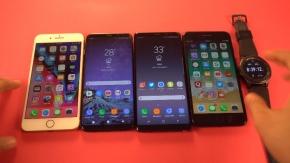 Mobile : เปรียบเทียบแบตเตอรี่ของเรือธง 2 ค่าย ระหว่าง Samsung Galaxy และ Apple iPhone รุ่นไหนอึดกว่ากันมาชม !! (มีคลิป)