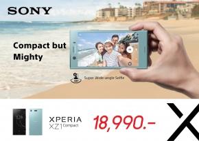 Android : ราคามาแล้ว...Sony ประเทศไทยเคาะราคา Xperia XZ1 Compact แล้วที่ 18,990 บาท เริ่มวางจำหน่ายสัปดาห์หน้า !!