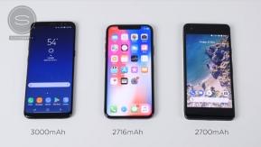 Mobile : ว่าด้วยเรื่องชาร์จเร็ว...เปรียบเทียบความเร็วการชาร์จของ Galaxy S8 , iPhone X และ Pixel 2 ใครเร็วกว่ากันมาดู !! (มีคลิป)
