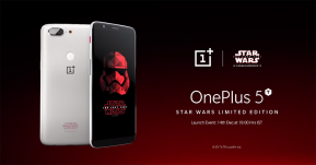 Android : เปิดตัว OnePlus 5T Star Wars Edition ลายพิเศษโปรโมทภาพยนตร์ The Last Jedi !!