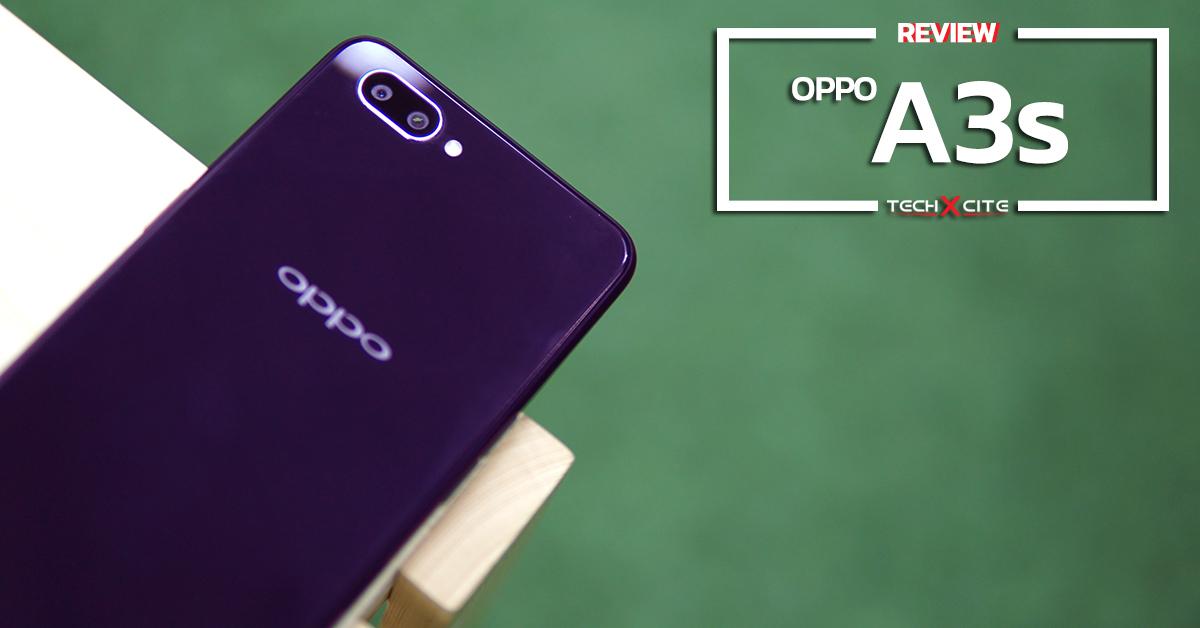 Review : OPPO A3s สมาร์ทโฟนกล้องคู่แบตฯจุใจในราคาไม่ถึง 5,000 บาท !!