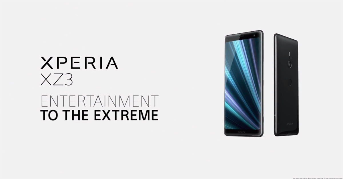 Pubg Mobile Hdr Extreme Realistic Gameplay Android Ios: Android : Sony เปิดตัว Xperia XZ3 อย่างเป็นทางการ มาพร้อม