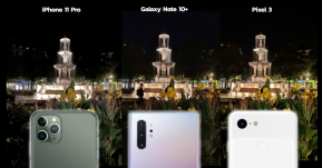 เทียบภาพถ่าย Night Mode ของ iPhone 11 Pro vs Galaxy Note 10 Plus vs Google Pixel 3