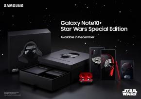 Samsung เปิดตัว Galaxy Note 10+ รุ่นพิเศษ Star Wars Special Edition เอาใจสาวก Kyro Ren ด้วยตัวเครื่องสีดำแดงสุดเท่ !