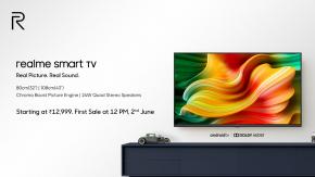 เปิดตัว realme Smart TV จัดเต็มทั้งภาพและเสียงใช้ระบบ Android TV ในราคาเริ่มต้นราว 5,500 บาทเท่านั้น !!