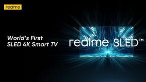 realme เปิดตัวสมาร์ททีวี 4K SLED เครื่องแรกของโลก