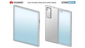 หลุดภาพ Huawei Mate X2 เผยดีไซน์หน้าจอพับเข้าด้านใน จอนอกใหญ่ขึ้น กล้อง 5 ตัว