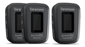 Gadget : Saramonic Blink500 Pro ไมโครโฟนไร้สายรุ่นใหม่ที่มาพร้อมแท่นชาร์จในตัว