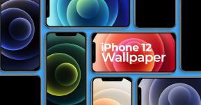 ดาวน์โหลด Wallpaper iPhone 12 ครบทั้ง 5 สีสำหรับ iPhone ได้แล้วที่นี่ !!
