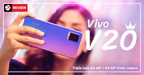 Review: Vivo V20 ที่สุดแห่งการถ่ายภาพได้อย่างกล้องมืออาชีพ มืดแค่ไหนก็เซลฟี่ได้คมชัด 44MP พร้อมแบตเตอรี่ชาร์จไว 33W!!