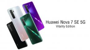 เปิดตัว Huawei Nova 7 SE 5G Vitality Edition มาพร้อม CPU Dimensity 800U ในราคาหมื่นนิดๆ