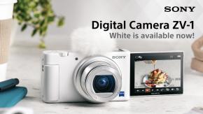 Sony ไทยอวดโฉมกล้องคอมแพ็คท์ ZV-1 สีขาวใหม่ล้ำเทรนด์ พร้อมเปิดให้สั่งจองแล้ววันนี้ !