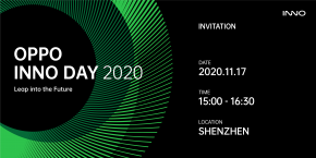 OPPO จัดงาน OPPO INNO DAY 2020  พร้อมเปิดตัวผลิตภัณฑ์ภายใต้นวัตกรรมสุดล้ำ 3 รายการ ในวันที่ 17 พ.ย.นี้ !