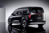 เชิญชมภาพ Concept Mercedes Benz eqt luxury minivan